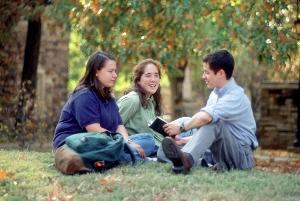 Frey Clark_Students_outside1990s.jpg.jpg