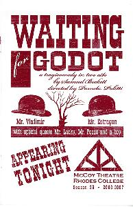 Waiting for Godot, Playbill Cover.jpg.jpg