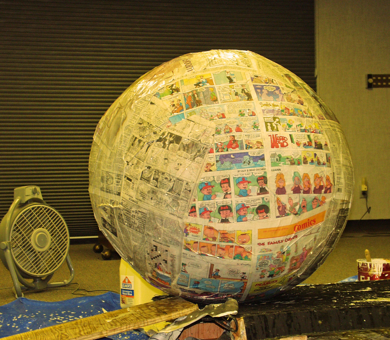 ubru at home buy paper mache ball