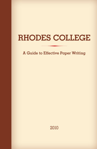 writing the rhodes essay Give references a cause and effect essay is a very analytical piece of writing that requires a clear mind and a good knowledge of the events  2018 by wendy rhodes.