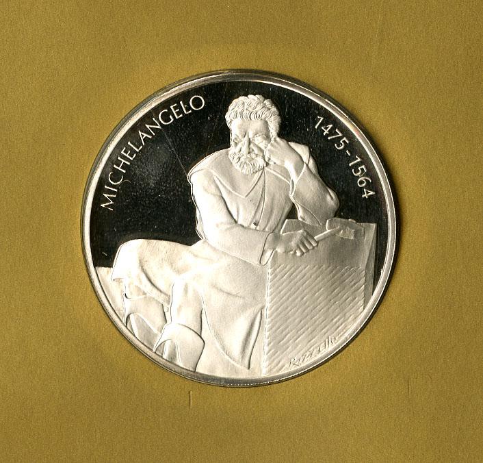 Franklin Mint 1977 Medallic Commemorative Society International Sterling Silver