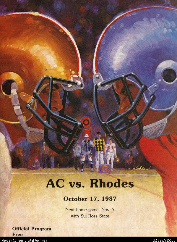 Rhodes College Digital Archives - DLynx: Program cover for ...