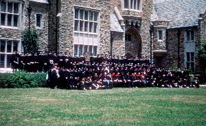 Commencement_1957_gathered for class picture_007.jpg.jpg