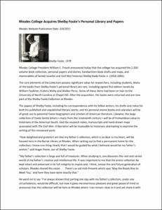 Foote collection announcement 20110304.pdf.jpg